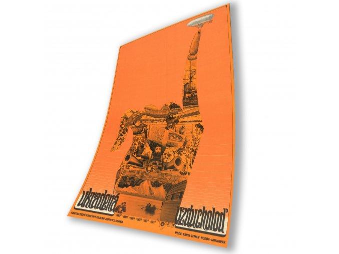 Filmový plakát Ukradená vzducholoď