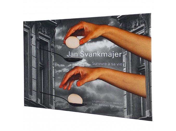 Kniha Jan Švankmajer Survivre a sa vie 1