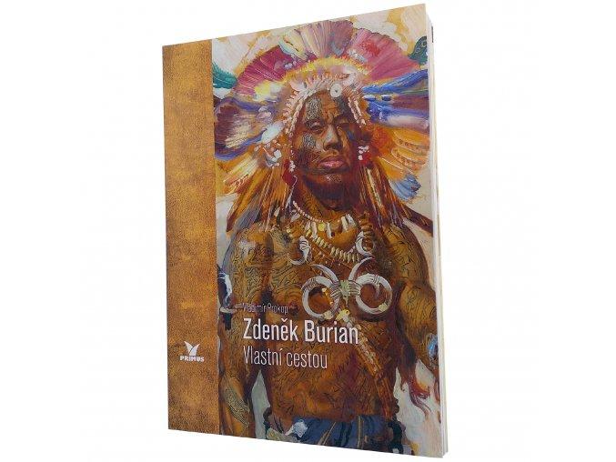 Kniha Zdeněk Burian Vlastní cestou 1