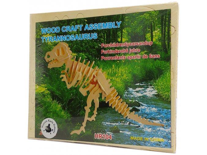 Wood Craft Assembly Tyranossaurus 1