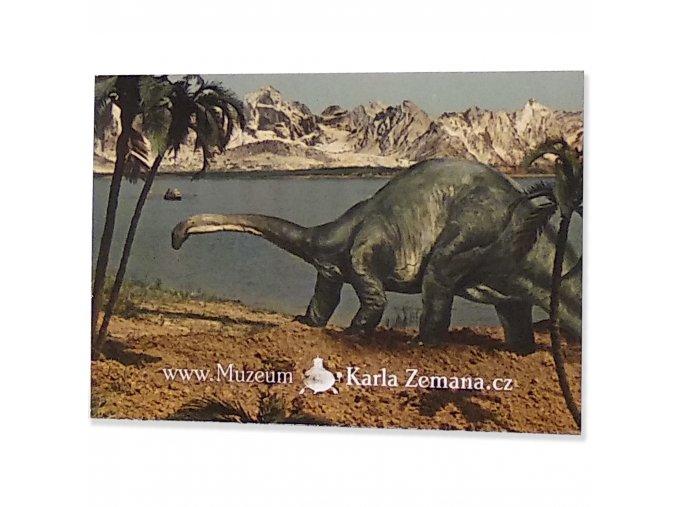 Magnet brontosaurus