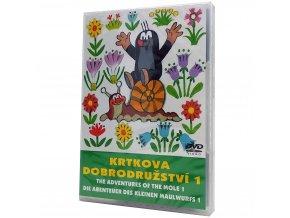 DVD Krtkova dobrodružství 1 2