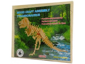 Wood Craft Assembly Tyranossaurus 1