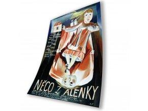 Plakát Něco z Alenky