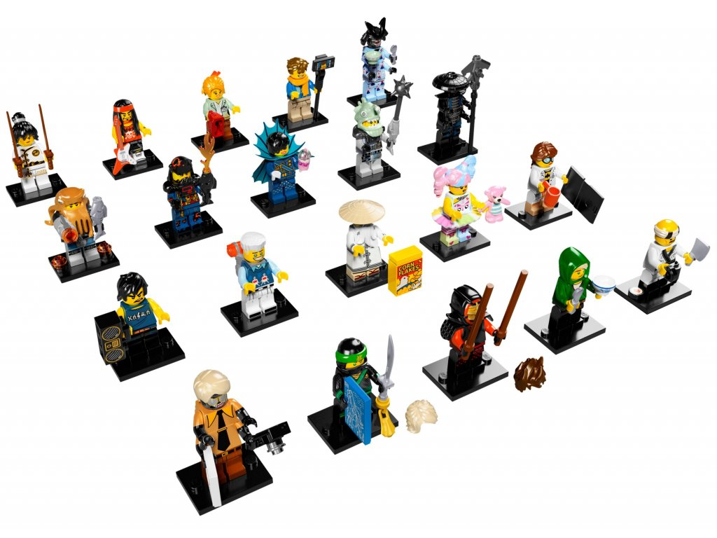 LEGO® Minifigurky 71019 The NINJAGO® Movie - Vyber si minifigurku!