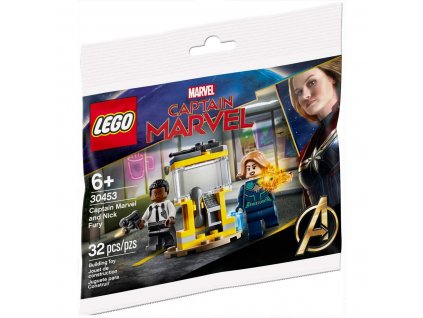 LEGO® Super Heroes 30453 Captain Marvel a Nick Fury