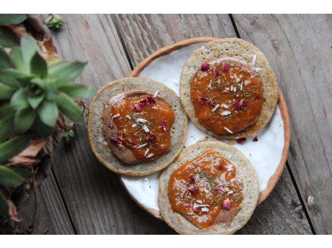 Návleky na nožky - béžovo-růžové