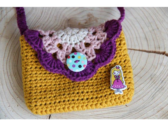 Mini kabelka - princezna