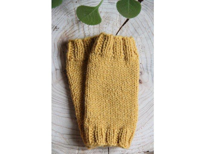 Návleky na ručky - žluté