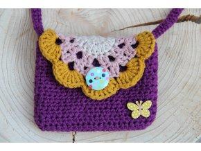 Mini kabelka  - motýl