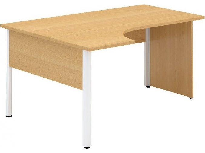 Interiér Říčany stůl pracovní levý Alfa 121 120x180 (LTD ALFA OŘECH)