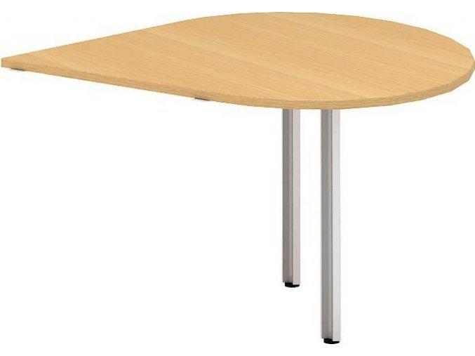 Interiér Říčany stůl pracovní Alfa 100 120x120 (LTD ALFA OŘECH)