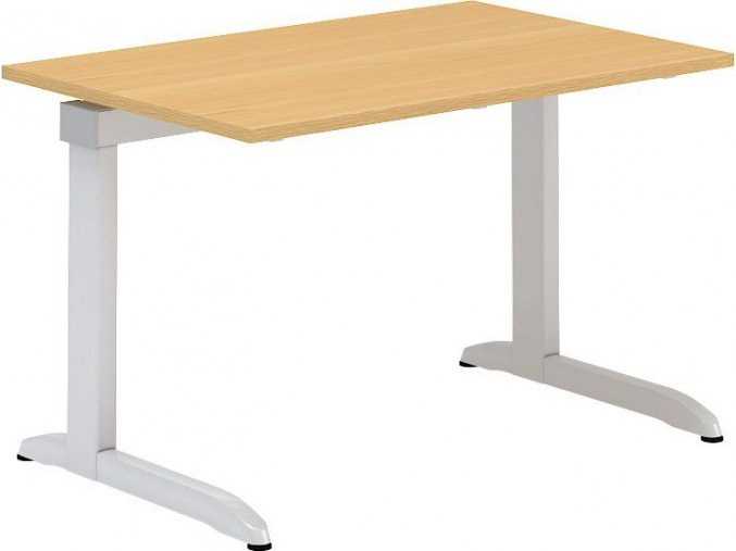 Interiér Říčany stůl pracovní Alfa 301 80x120 (LTD ALFA BÍLÁ)