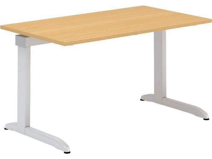 Interiér Říčany stůl pracovní Alfa 302 80x140 (LTD ALFA BÍLÁ)