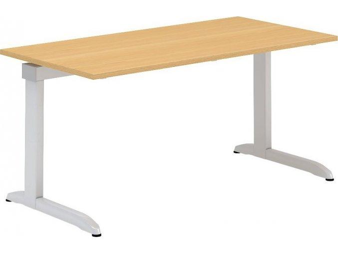 Interiér Říčany stůl pracovní Alfa 303 80x160 (LTD ALFA BÍLÁ)
