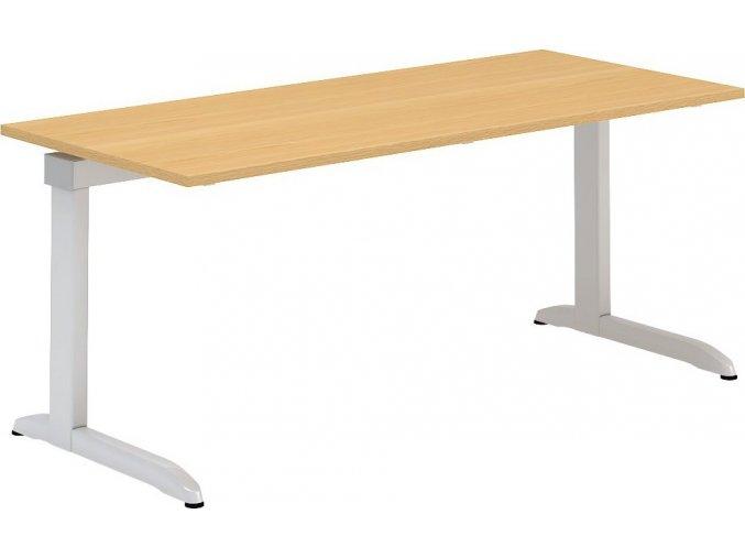 Interiér Říčany stůl pracovní Alfa 304 80x180 (LTD ALFA BÍLÁ)