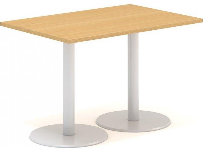 Interiér Říčany stůl pracovní jednací Alfa 401 80x120 (LTD ALFA BÍLÁ)