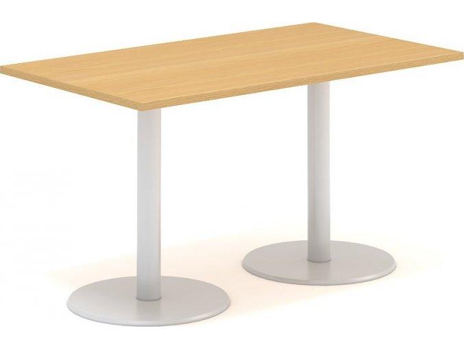 Interiér Říčany stůl pracovní jednací Alfa 402 80x140 (LTD ALFA BÍLÁ)