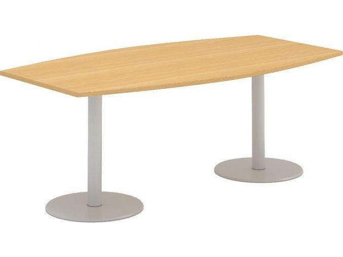 Interiér Říčany stůl pracovní jednací Alfa 405 110x200 (LTD ALFA BÍLÁ)