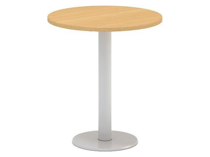 Interiér Říčany stůl pracovní jednací Alfa 406 průměr 70 (LTD ALFA BÍLÁ)