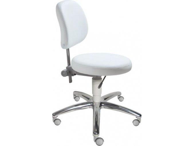 Mayer židle otočná s nastavitelnou opěrkou zad MEDI 1255 S - černá (plast MEDI S - černá)