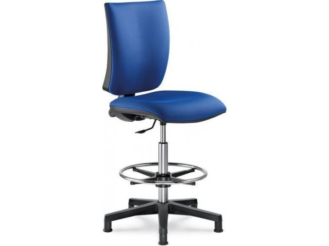 LD Seating pokladní pracovní židle LYRA 206 SY (POTAH FLORIDA, STYLE 68054)