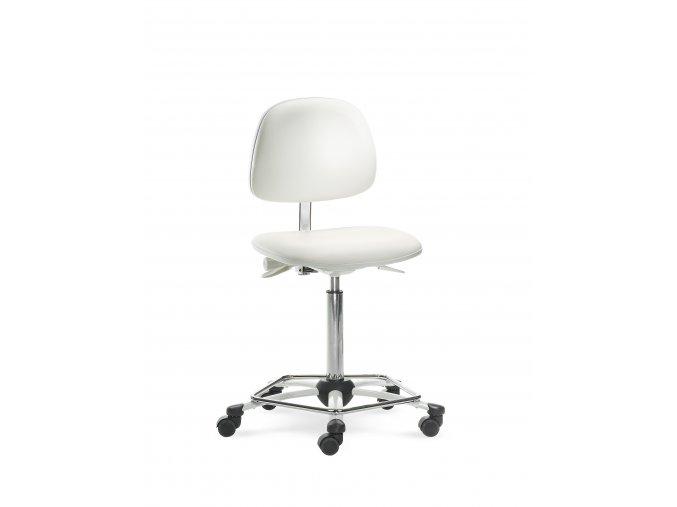 MAYER pracovní židle MEDI 2203 62 kříž bílý, mechanika bílá (potah Lima Lima 34 059)