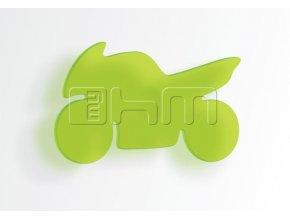 Úchytka MOTORKA - prodejné pouze k nábytku myHM (MYHM úchytka zelená velká)