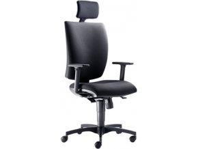 LD Seating pracovní židle LYRA 208 SY D1008 (POTAH DINO D8033)