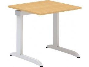 Interiér Říčany stůl pracovní Alfa 300 80x80 (LTD ALFA BÍLÁ)