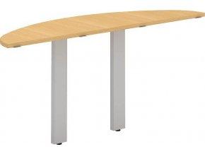 Interiér Říčany stůl pracovní Alfa 300 160x45 (LTD ALFA BÍLÁ)