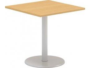 Interiér Říčany stůl pracovní jednací Alfa 400 80x80 (LTD ALFA BÍLÁ)