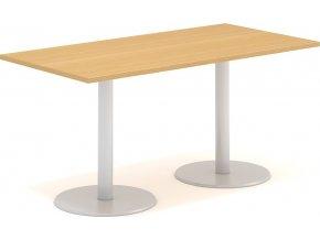 Interiér Říčany stůl pracovní jednací Alfa 403 80x160 (LTD ALFA BÍLÁ)