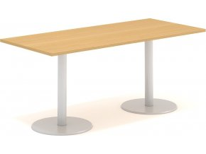 Interiér Říčany stůl pracovní jednací Alfa 404 80x180 (LTD ALFA BÍLÁ)