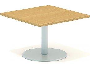 Interiér Říčany stůl pracovní jednací Alfa 409 80x80 (LTD ALFA BÍLÁ)