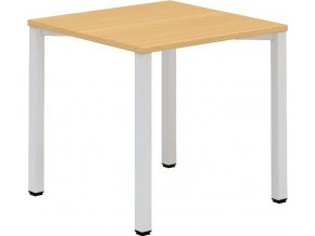 Interiér Říčany stůl pracovní Alfa 200 80x80x74,2 (LTD ALFA BÍLÁ)