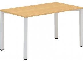 Interiér Říčany stůl pracovní Alfa 202 80x140x74,2 (LTD ALFA BÍLÁ)