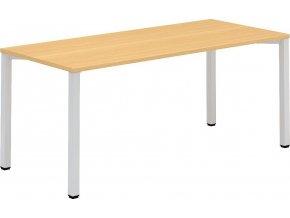 Interiér Říčany stůl pracovní Alfa 204 80x180x74,2 (LTD ALFA BÍLÁ)