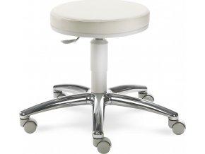 MAYER pracovní židle MEDI 1256 G (kostra MEDI světle šedá, KOŽENKA 26 26 468, plast MEDI G - světle šedá)