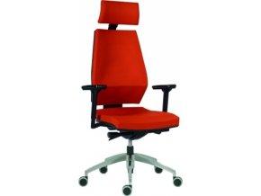 Antares pracovní židle 1870 SYN motion ALU PDH (POTAH D,B,BN,MK BN7)