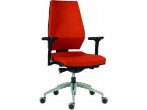 Antares pracovní židle 1870 SYN motion ALU  D2