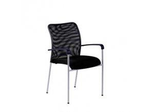 TRITON NET. černá, židle jednací