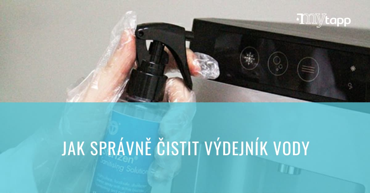 Jak správně čistit výdejník vody?