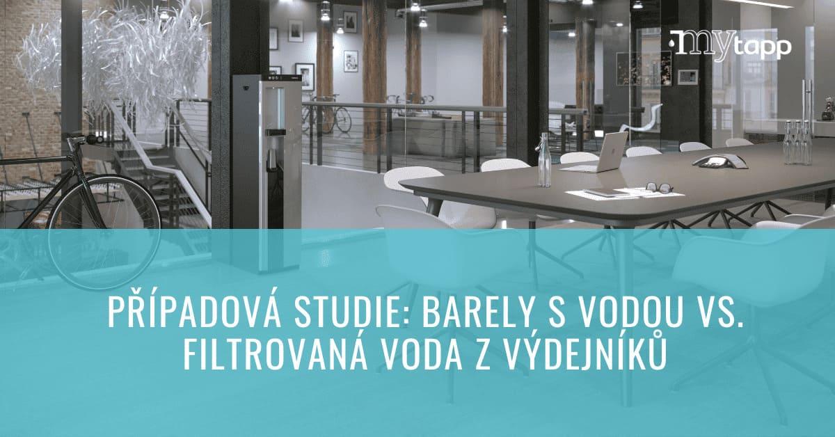 Případová studie: Barely na pitnou vodu vs. automaty na vodu s filtrací