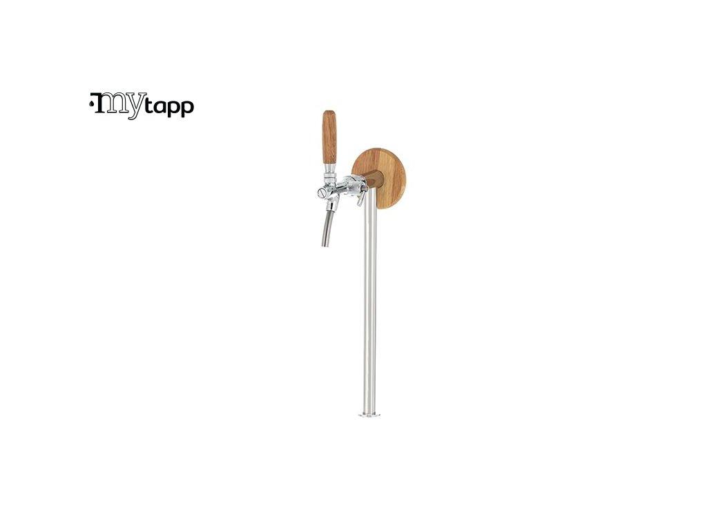 Vycepni stojan TUBE 1 WOOD pro vyrobnik vody