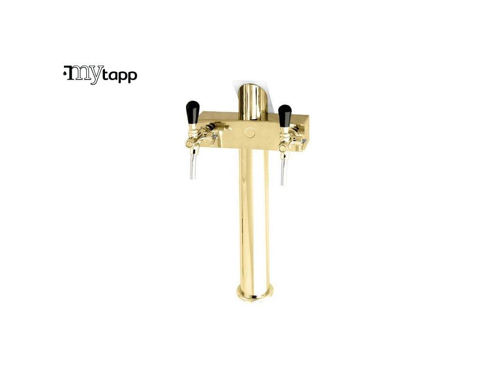 vycepni stojan T 2 - zlatý