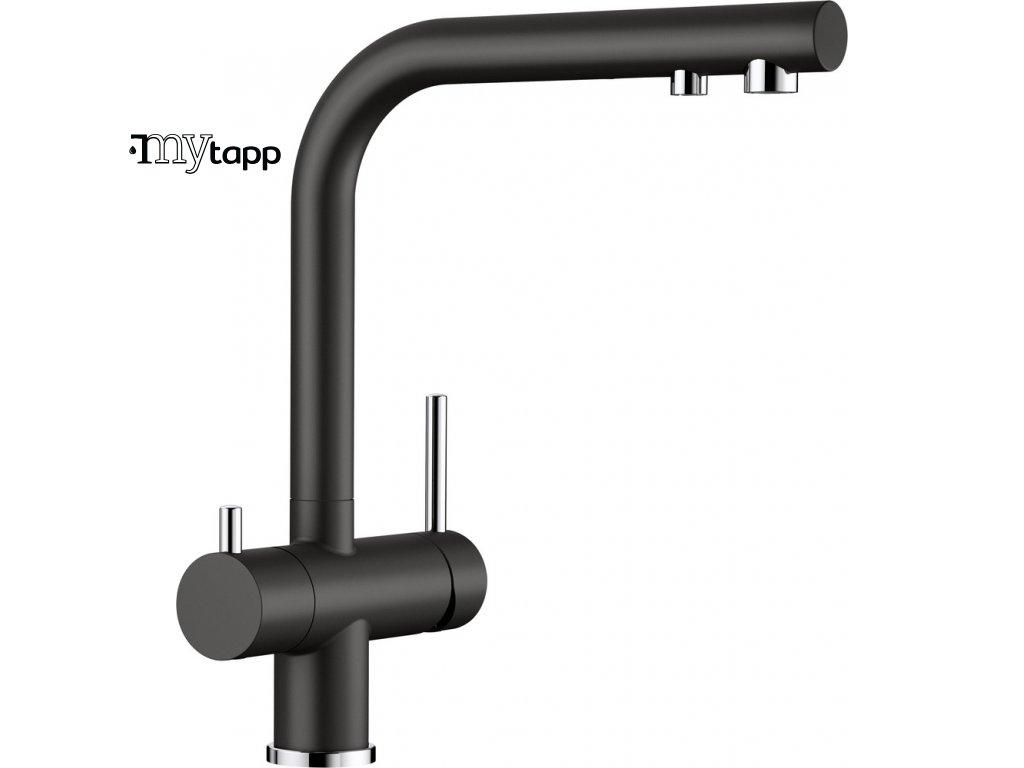 Kuchyňská baterie pro filtrovanou vodu Blanco Fontas II černá 526157