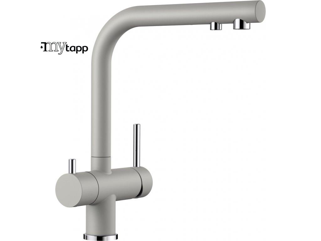Kuchyňská baterie pro filtrovanou vodu Blanco Fontas II perlově šedá 523138