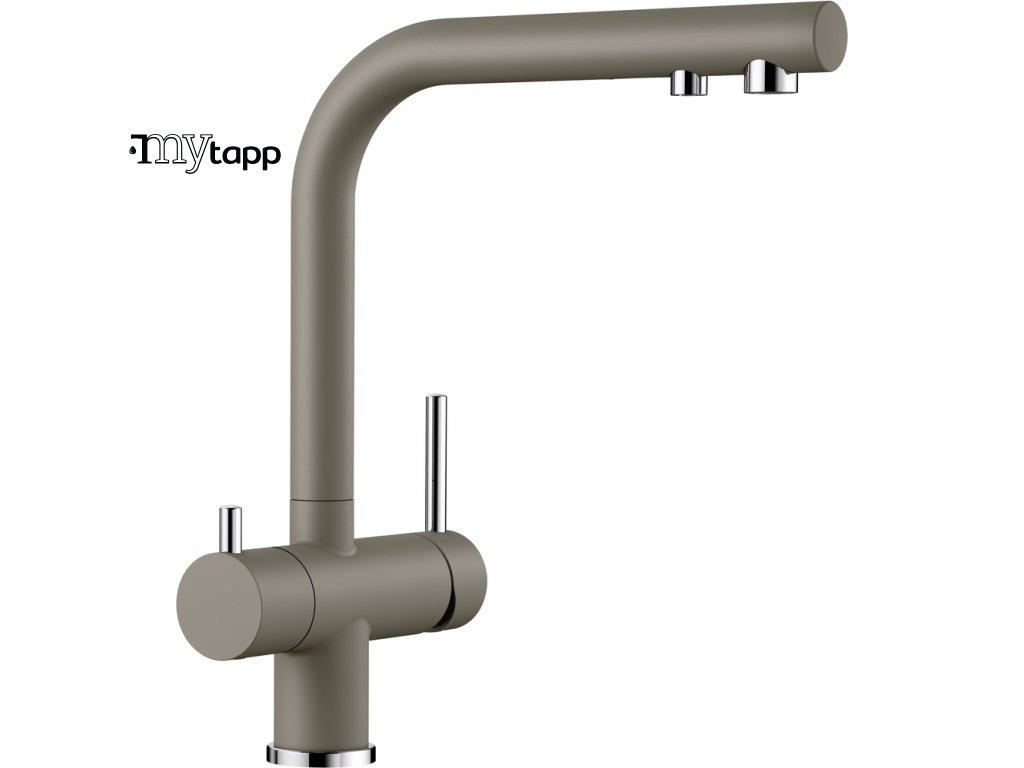 Kuchyňská baterie pro filtrovanou vodu Blanco Fontas II béžová tartufo 523136