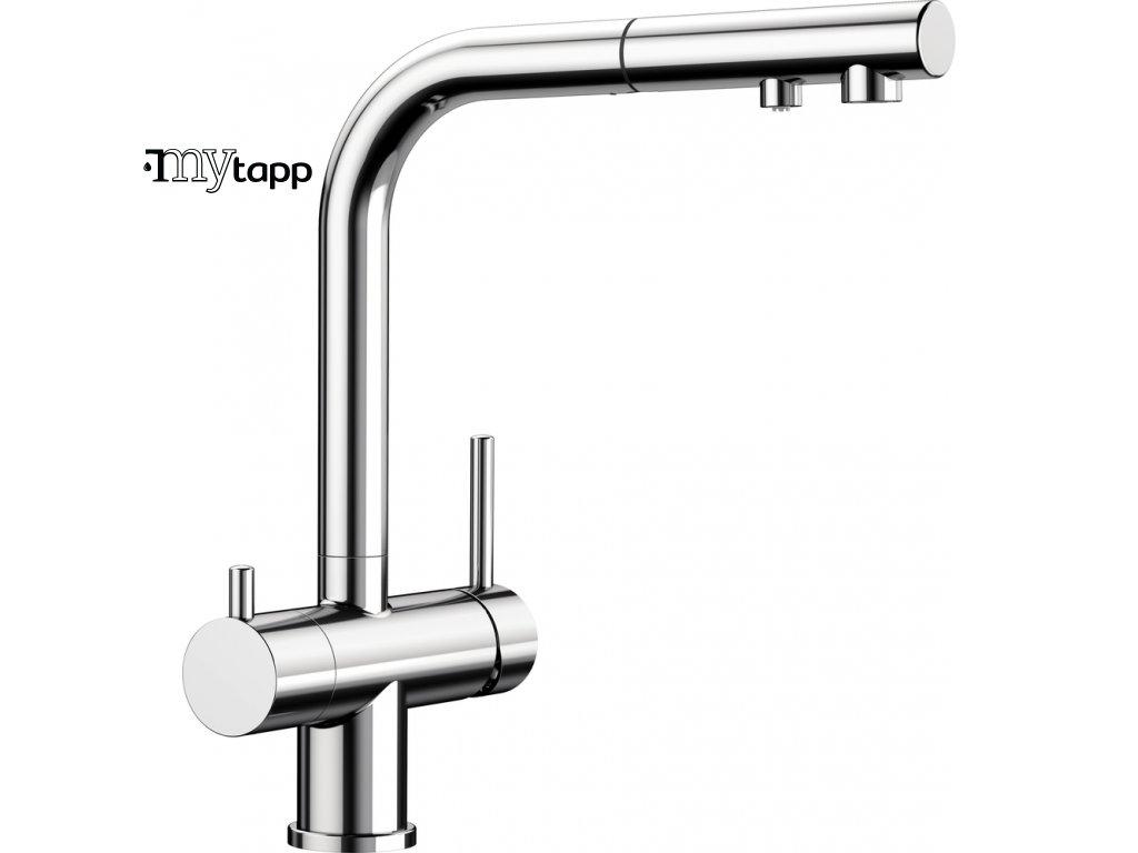Kuchyňská baterie pro filtrovanou vodu Blanco Fontas s II chrom 525198
